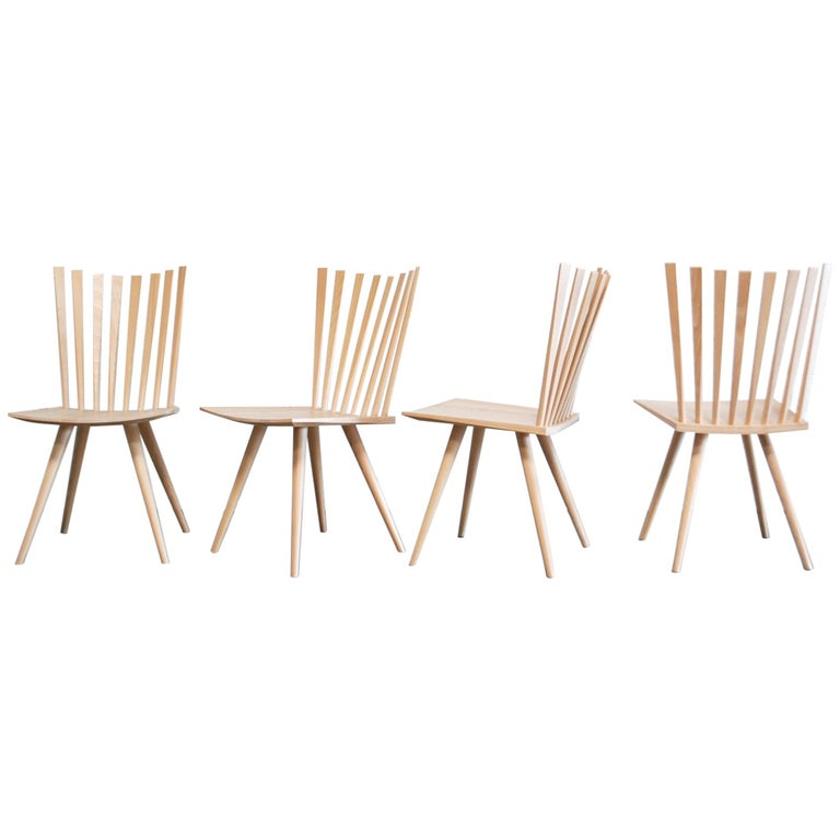 Mikado Dining Chairs Design Foersom & Hiort-Lorenzen by Fredericia For Sale