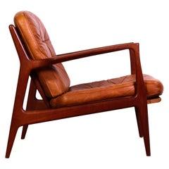 Midcentury Danish Ib Kofod-Larsen Lounge Chair for Chr. Jensen