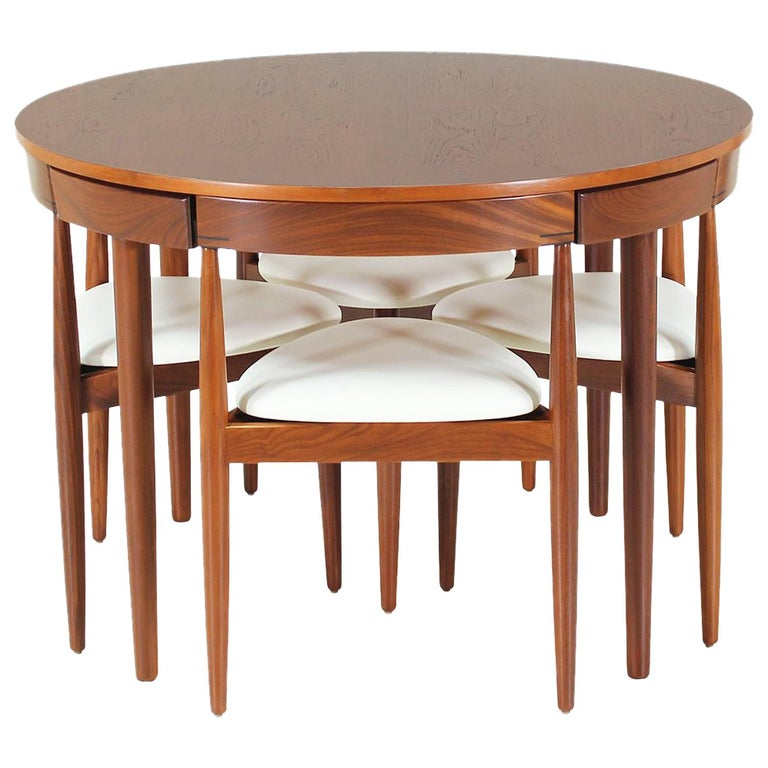 "Hans Olsen ""Roundette"" Dining Set for Frem Rølje For Sale"