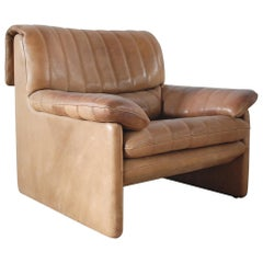 De Sede DS 86 Vintage Neck Leather Armchair