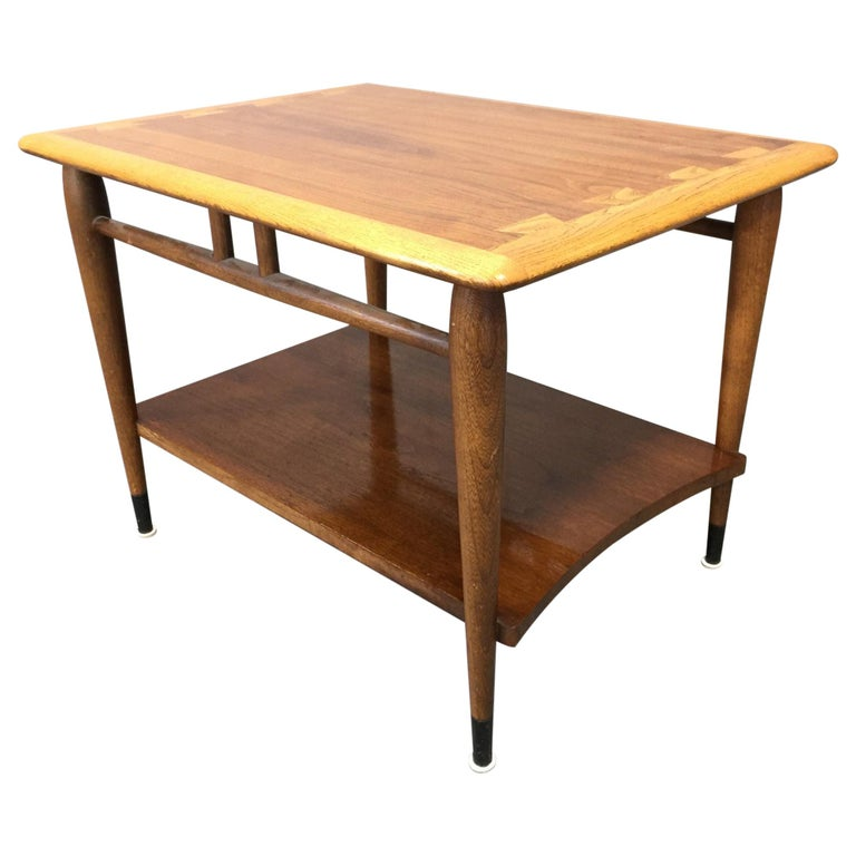 Lane Acclaim Series Coffee Table: Acclaim Series Side Table With Shelf By Andre Bus For Lane