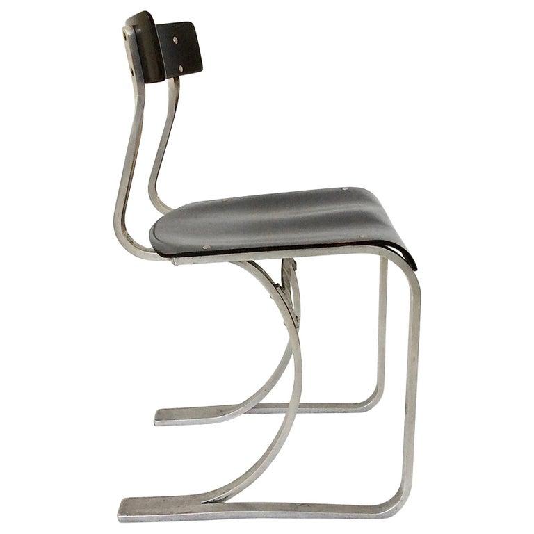 Marcel Breuer Rare Aluminium Chair, circa 1932 1