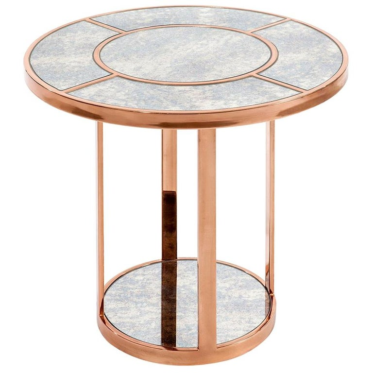 Side-Liner Table, Modern Art Deco Side or Coffee Table For Sale