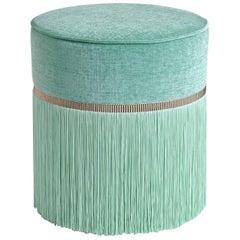 Couture Turquoise Pouf by Lorenza Bozzoli Design