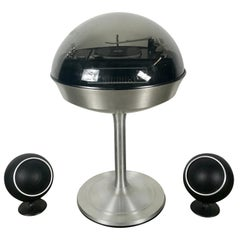Modernist Space Age Bubble Top Apollo 860 Stereo/Record Player by Electrohome