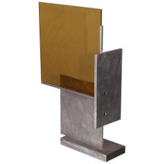 Aluminium and Glass Sculpture