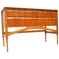 1950s Vintage Satinwood Sideboard