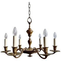 Decorative Brass Chandelier