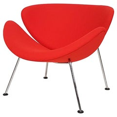 Orange Slice Lounge Chair by Pierre Paulin for Artifort Dutch Modern Design 1961