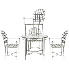Mario Papperzini Breakfast or Patio Table Set for John Salterini