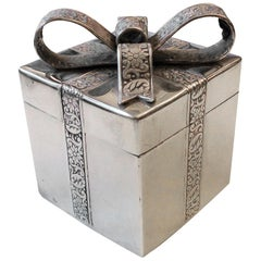 Portuguese Solid Silver Engagement Ring Box