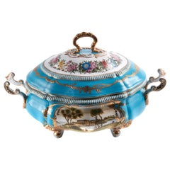 Fine Quality French Sevres Porcelain Tureen