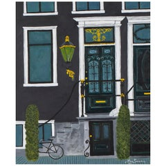Original Painting of Amsterdam Doorway