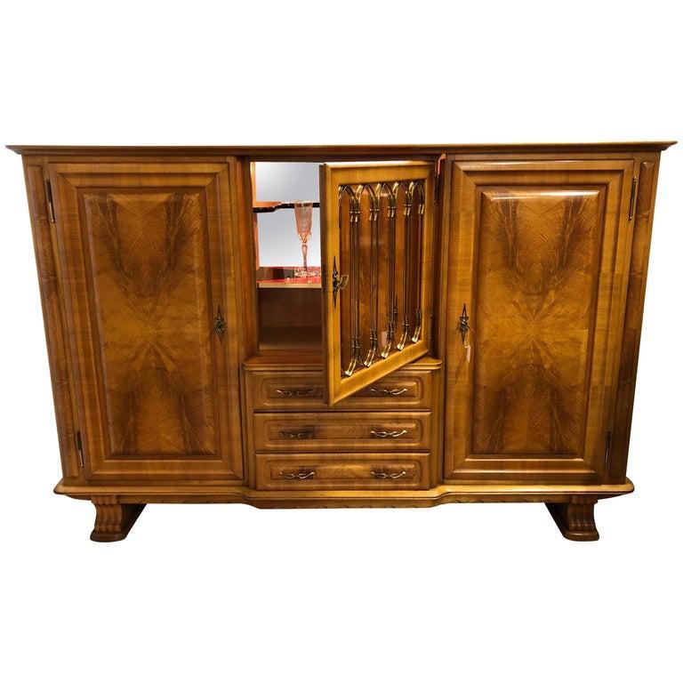 Art Deco Style Medium Sideboard, Mid-Century Modern For Sale