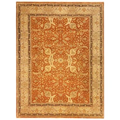 Traditional Hand-woven Indian Agra Rug, 107081