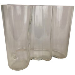 Alvar Aalto Glass Bowl Savoy, circa 1970