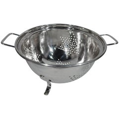 Super Luxurious Hand-Made Sterling Silver Colander by Cartier