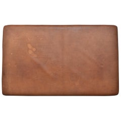 Extra Large Vintage Leather Gymnastics Tumble Mat - or Headboard