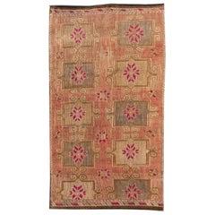 Vintage Kilim Flat-Weave Rug