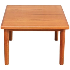 Danish Modern Square Coffee Table in Teak by BRDR Furbo