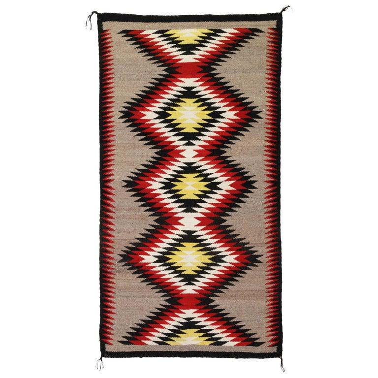 Navajo Ganado Native American Weaving For Sale
