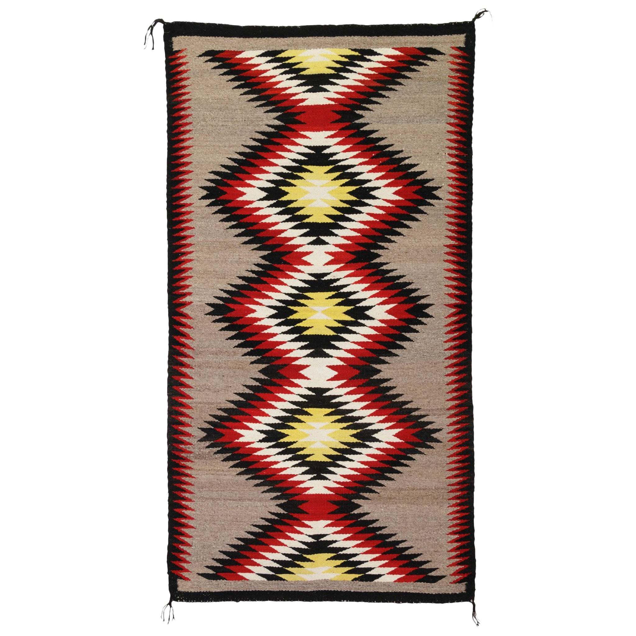 Navajo Ganado Native American Weaving