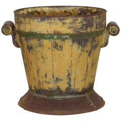 Italian Neoclassic Painted Tole Planter, Second Quarter of the 19th Century