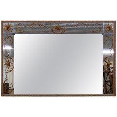 Regency Style Eglomise Mirror