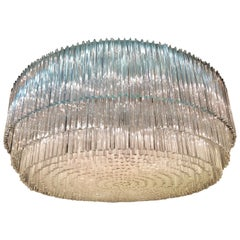Monumental Murano Glass Chandelier, circa 1960s