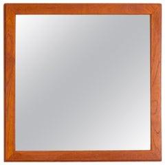 Aksel Kjersgaard Teak Wall Mirror