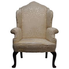 George III Wingback Chair, English, circa 1800