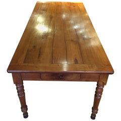 Farm Table Cherrywood 6-8 Seat