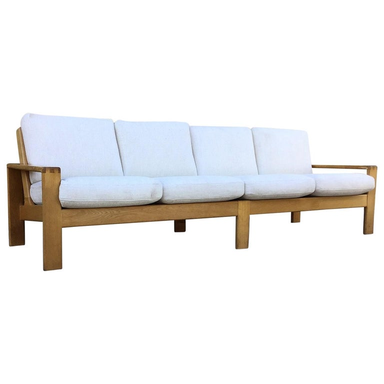 1960s 4-Seat Dutch Sofa For Sale at 1stdibs