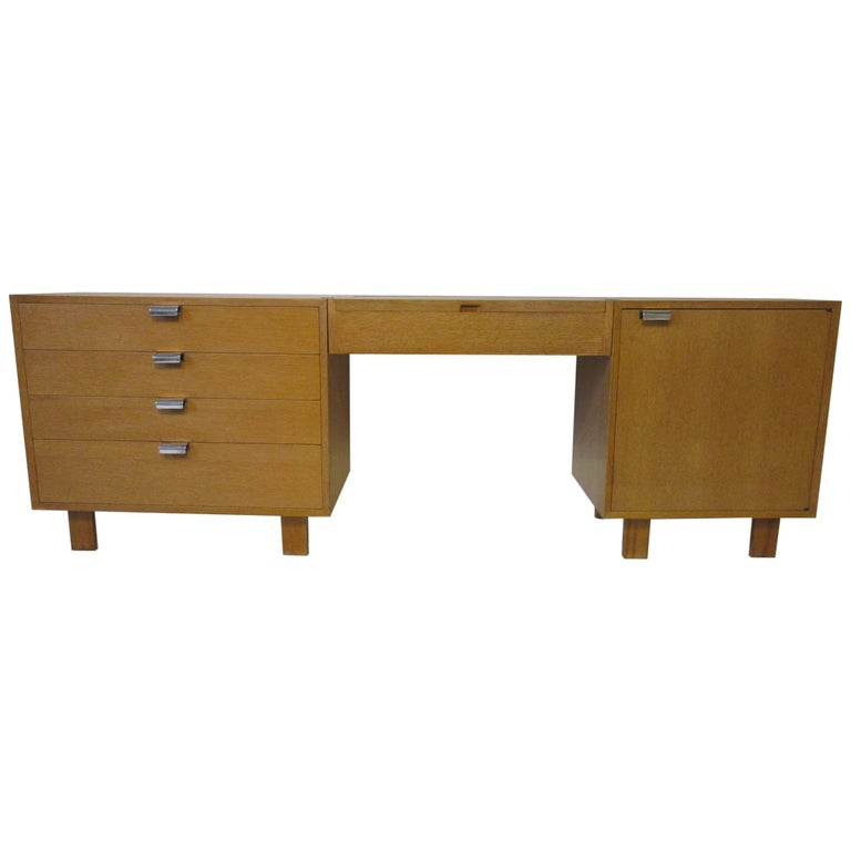 George Nelson 3-Piece Vanity Chest for Herman Miller For Sale