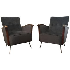 Vintage Art Deco Chairs