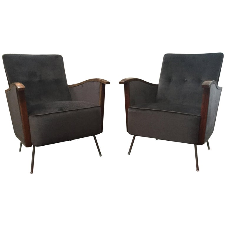 Vintage Art Deco Chairs For Sale