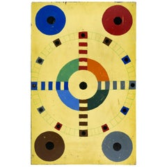 Double Sided Gameboard, Parcheesi and Checkers
