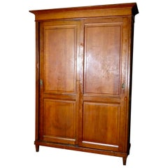 French Oak Library Cabinet, circa 1890