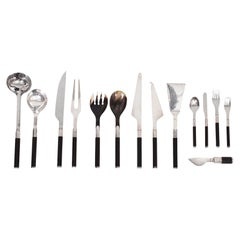 Afra and Tobia Scarpa for San Lorenzo Studio Silver Flatware