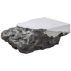 Synthesis Monolith Coffee Table No.2 Polished Stainless Steel