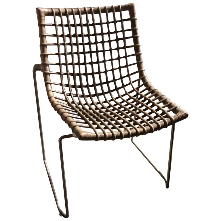 Set of Six Chyllium Stackable Chairs by Bonacina Pierantonio For Sale
