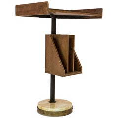 Franco Albini Style Tall Desk Table