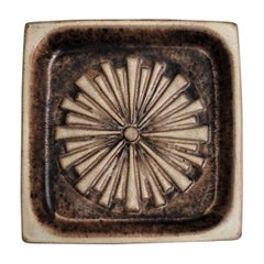 Danish Modern Stoneware Ashtray by Marianne Starck for Michael Andersen, 1960s