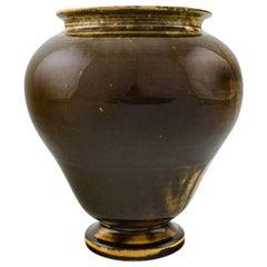 Svend Hammershøi for Kähler, HAK, Glazed Stoneware Vase