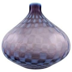 Gunnel Sahlin for Kosta Boda, Large Art Glass Vase