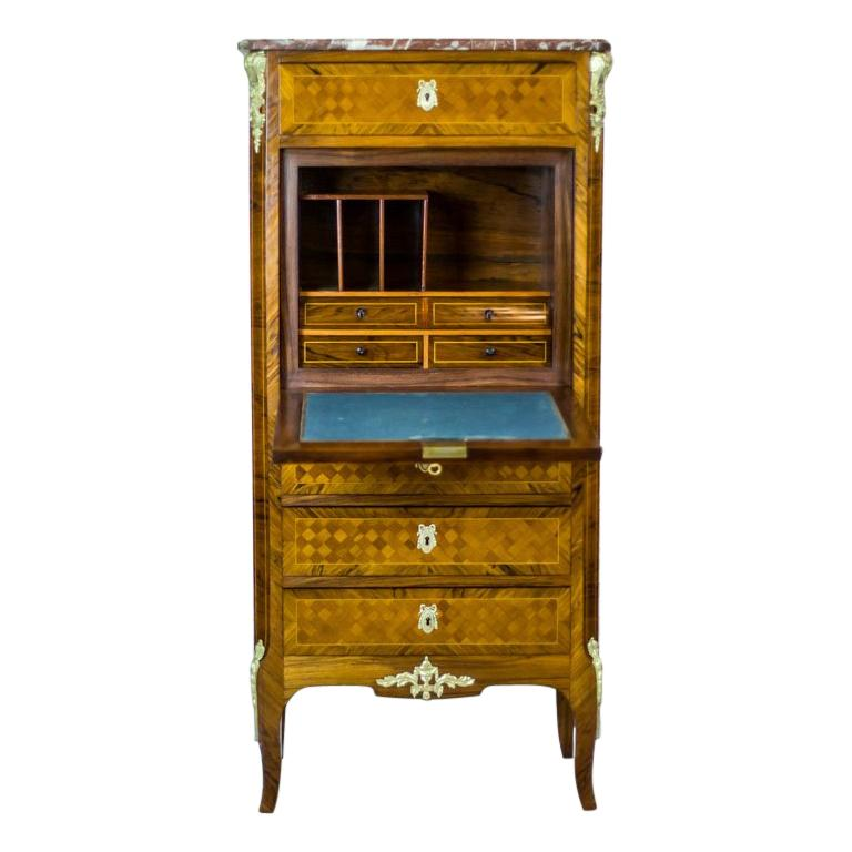 19th Century French Secretary Desk in the Louis XV Style