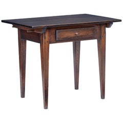 19th Century Swedish Pine Stained Side Table