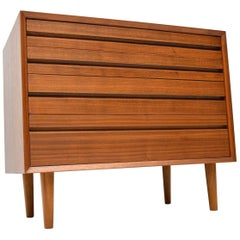 1960s, Vintage Walnut Chest of Drawers by Poul Cadovius