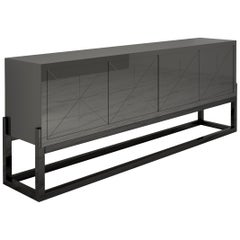 Modern Design Sideboard with a High Gloss Finish
