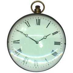 Extremely Large Edwardian 8 Day / 200 Hour Ball Clock with Roman Numerals